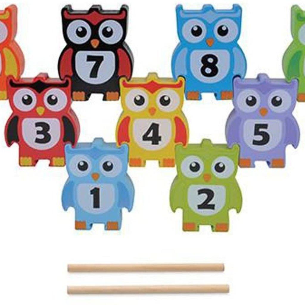 Jumini Wooden Stacking Owl Game