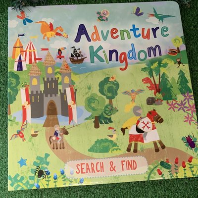 Adventure Kingdom - Search & Find Book