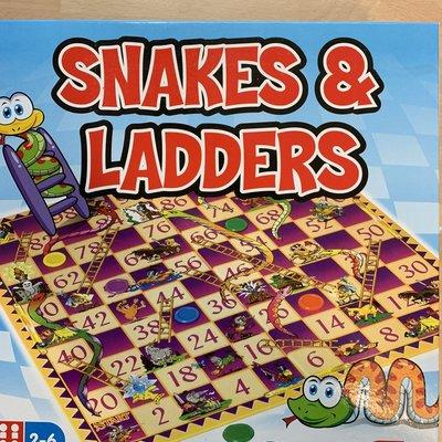 Hiti Boxed Snakes & Ladders - Hiti