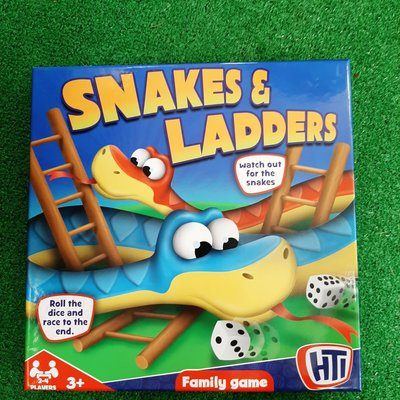 Hti Boxed Snakes & Ladders Game - HTI