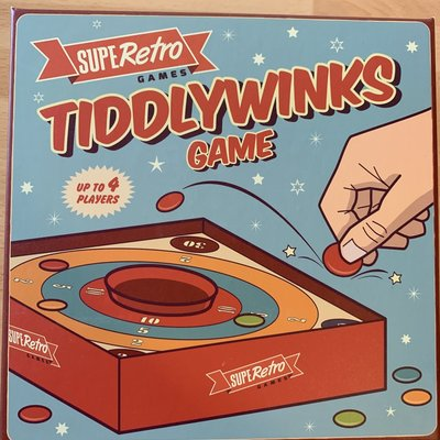 SupeRetro Toys Retro Tiddlywinks Game