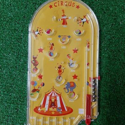 Scratch Europe Tin Pinball Game Circus