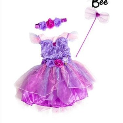 Amethyst Fairy Costume - Age 2/3 Years