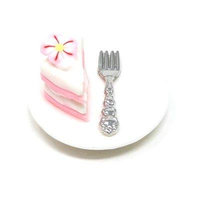 Fiddlehead Fiddlehead - Cherry Blossom Cake on Plate