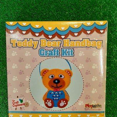 Playwrite Teddy Bear Handbag Craft Kit