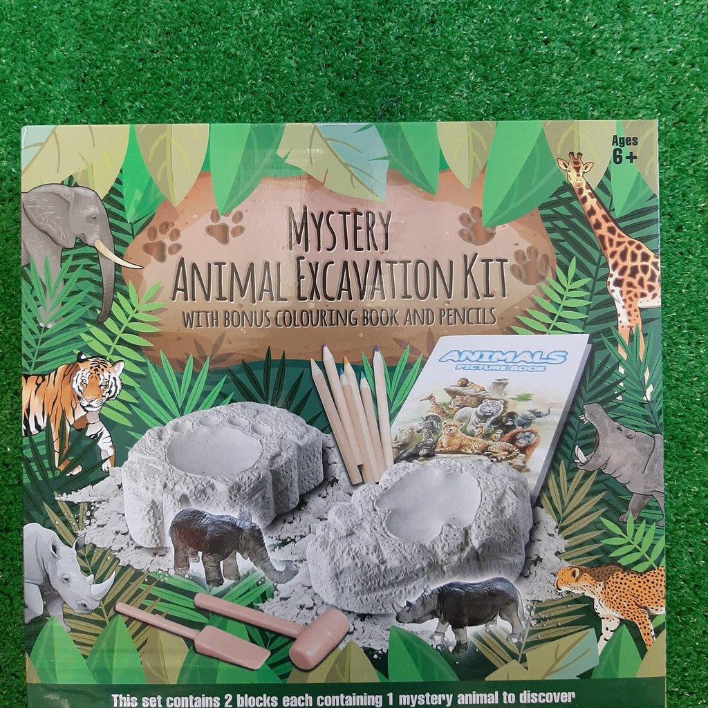 Wild Animal Excavation Kit