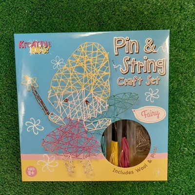 Kreative Kids Pin & String Craft Set  - Fairy