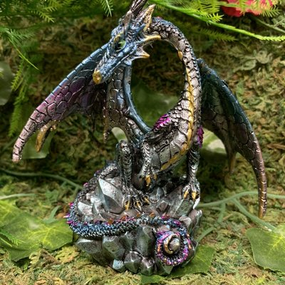 Alator Giftware Dragon Hoard Collector - Blue