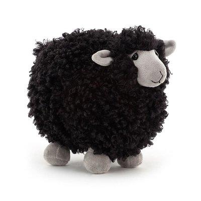 Jellycat - Little Legs Jellycat - Rolbie Sheep Black - Small