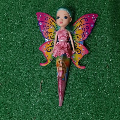 My Fairy Princess - Pink with Green Hair