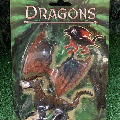 Kandtoys Bronze Dragon On Blistercard