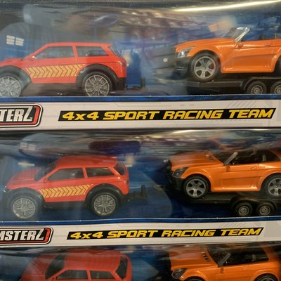 Teamsterz 4x4 Sport Racing Team - Red & Orange