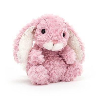 Jellycat - Little Legs Jellycat - Yummy Bunny - Tulip Pink