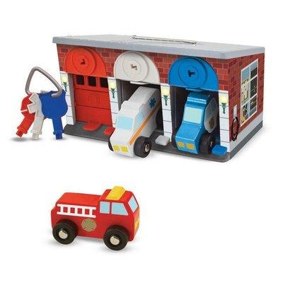Melissa & Doug Rescue Garage - Keys & Cars