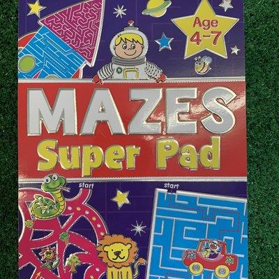 Brown Watson Mazes Super Pad