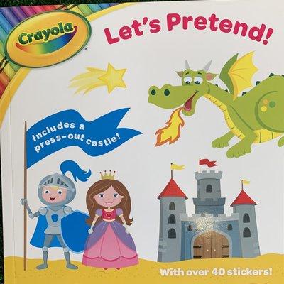 Crayola Crayola Lets Pretend Activity Book