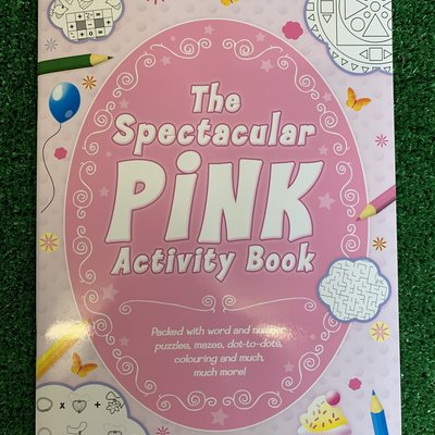 The Spectacular Pink Activity Book