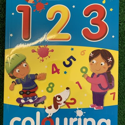 Bumper 123 Colouring Book