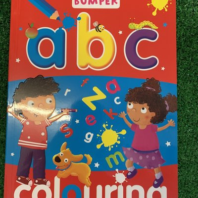 Brown Watson Bumper ABC Colouring Book