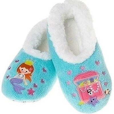 Snoozies Snoozies - Girls Mermaid Slippers - Small