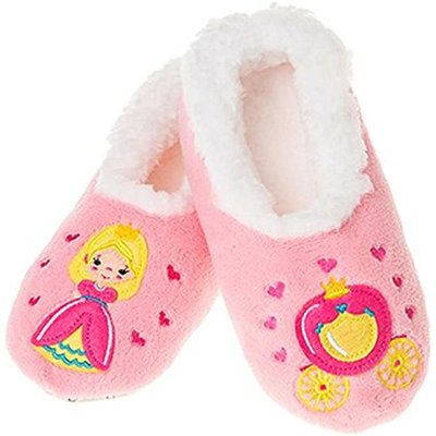Snoozies Snoozies - Girls Princess Slippers - Large