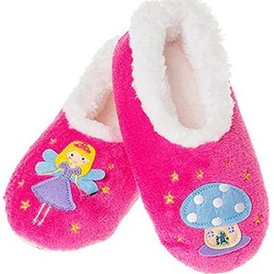 Snoozies Snoozies - Girls Fairy Slippers - Large