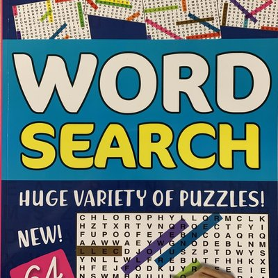 Mind Maze A4 Word Search Book