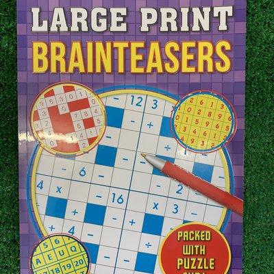 Brown Watson Large Print Brainteasers