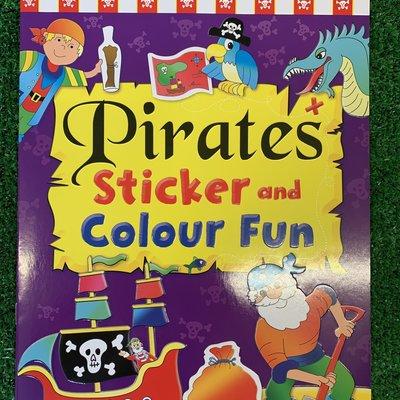 Brown Watson Pirate Sticker and Colour Fun