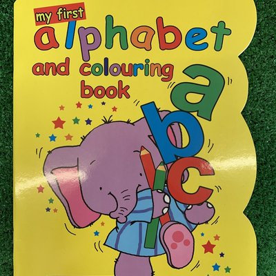 My First Alphabet & Colouring Book ABC
