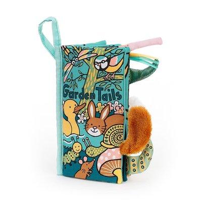 Jellycat - Soft Book Jellycat - Garden Tails - Book - New