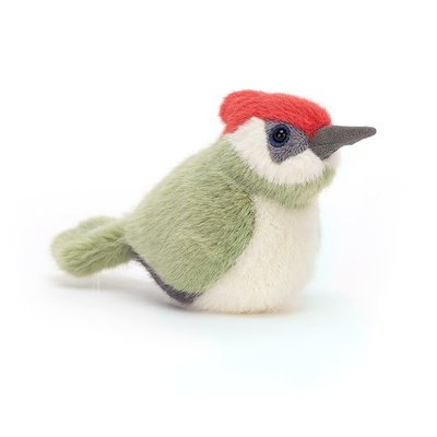 Jellycat - Pocket Pals Jellycat - Birdling Woodpecker