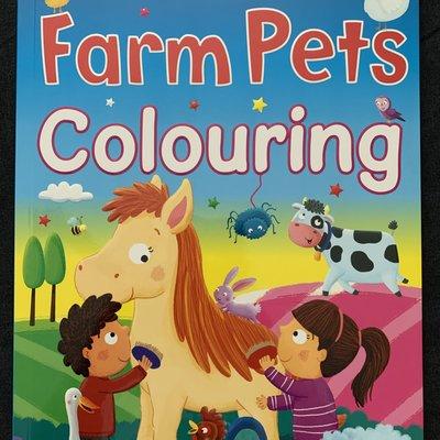 Brown Watson Bumper Farm Pets Colouring Book