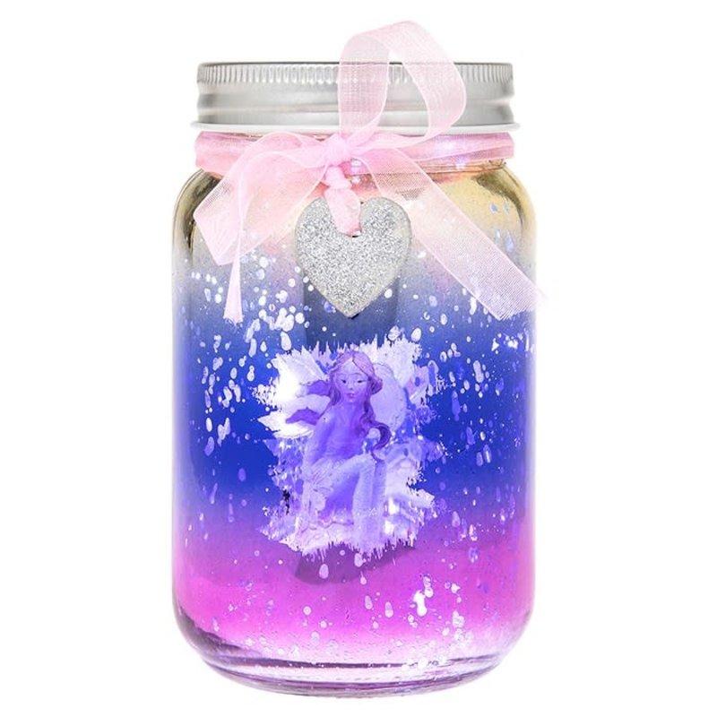 Shudehill Giftware Firefly Fairy LED Jar - Pink