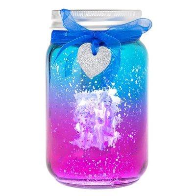 Shudehill Giftware Firefly Fairy LED Jar - Blue