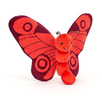 Jellycat - Colourful & Quirky Jellycat - Breezy Butterfly Poppy