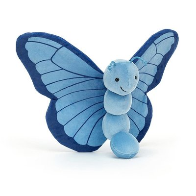 Jellycat - Colourful & Quirky Jellycat - Breezy Butterfly Iris