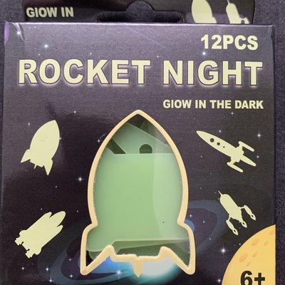 Henbrandt Ltd Rocket Night Box - Glow in the Dark