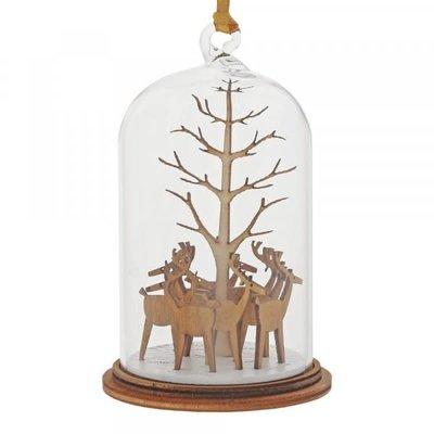 Kloche Kloche - Santa's Reindeer Hanging Decoration - Figurine