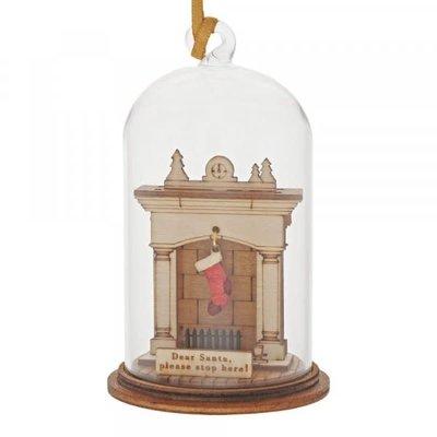 Kloche Kloche - Santa Please Stop Here Hanging Decoration - Figurine