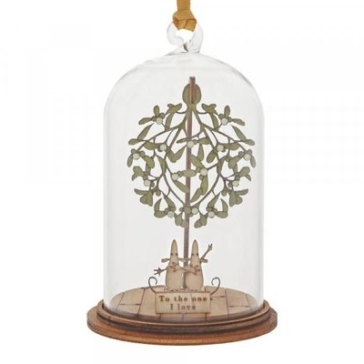 Kloche Kloche - To The One I Love At Christmas Hanging Decoration - Figurine