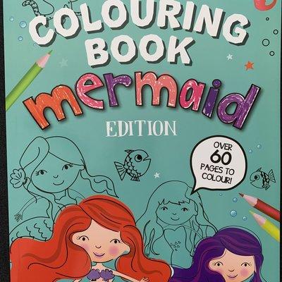 Eurowrap Colouring Book Mermaid Edition