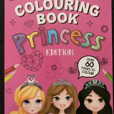 Eurowrap Colouring Book Princess Edition