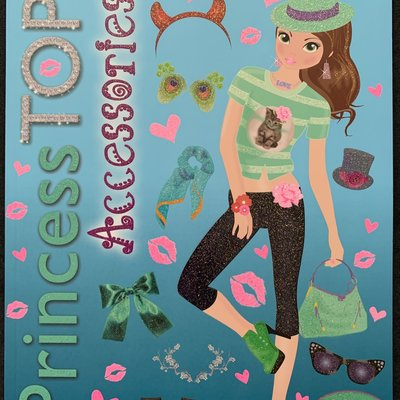 Brown Watson Princess TOP Accessories Activity Book