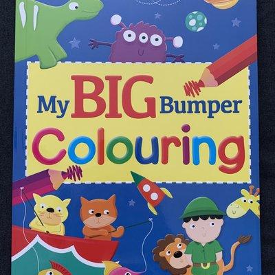 Brown Watson My BIG Bumper Blue Colouring Book