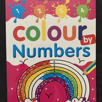 Brown Watson Bumper Colour by Numbers Book