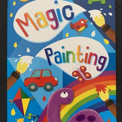 Brown Watson Magic Painting Book - Blue