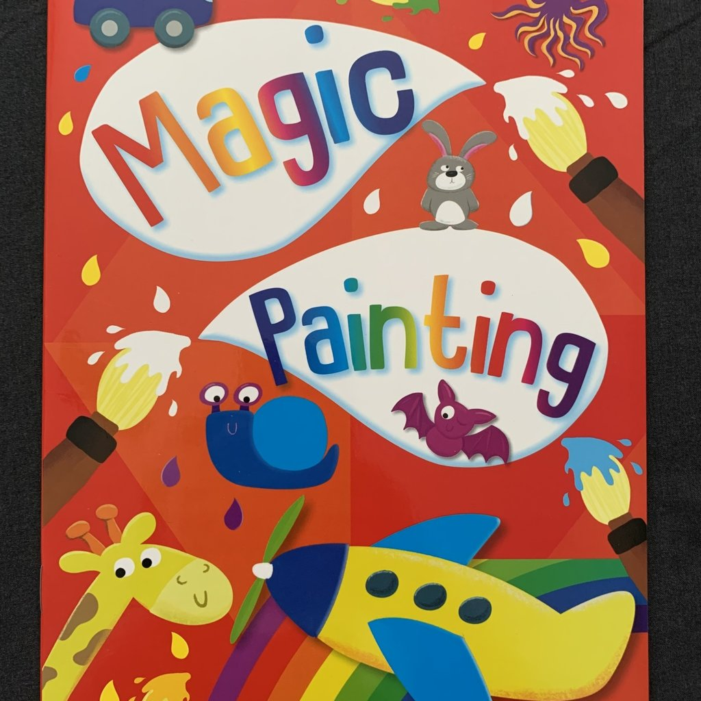 Brown Watson Magic Painting Book - Red
