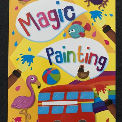 Brown Watson Magic Painting Book - Yellow