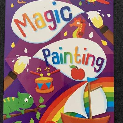 Brown Watson Magic Painting Book - Purple
